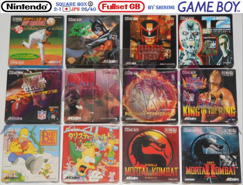 1°) Présentation de tous les jeux GB JPN Gb_ful55