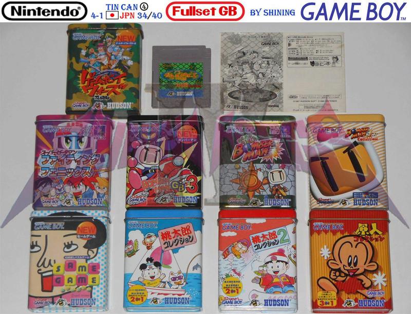 1°) Présentation de tous les jeux GB JPN Gb_ful66