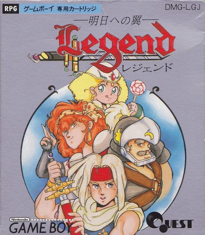 3°) Curiosités japonaises sur Game Boy Legend10