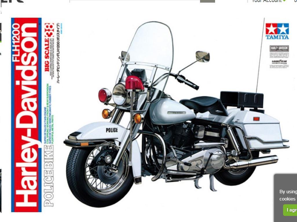 California Highway Patrol Harley 1/6 Captur11