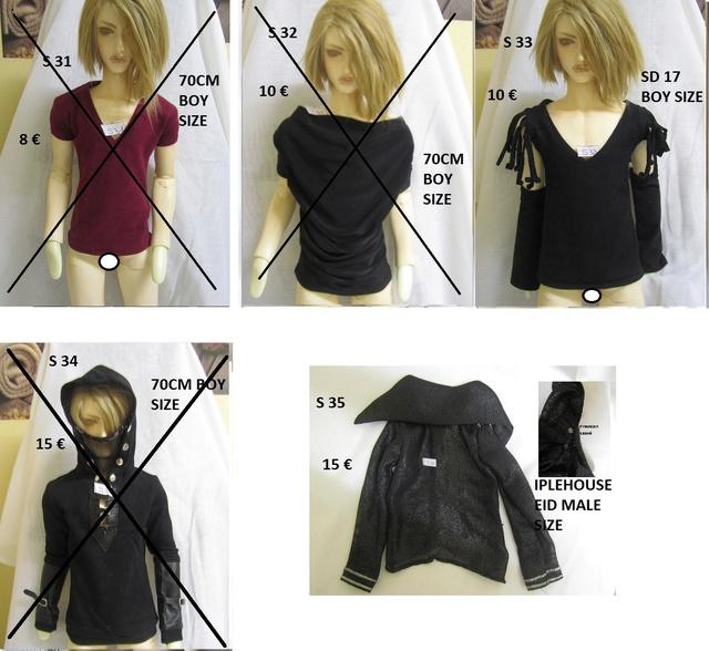 [Vds] vide-grenier - 1/3 GIRL, BOY, SD17, 70cm * News shoes Shirts10