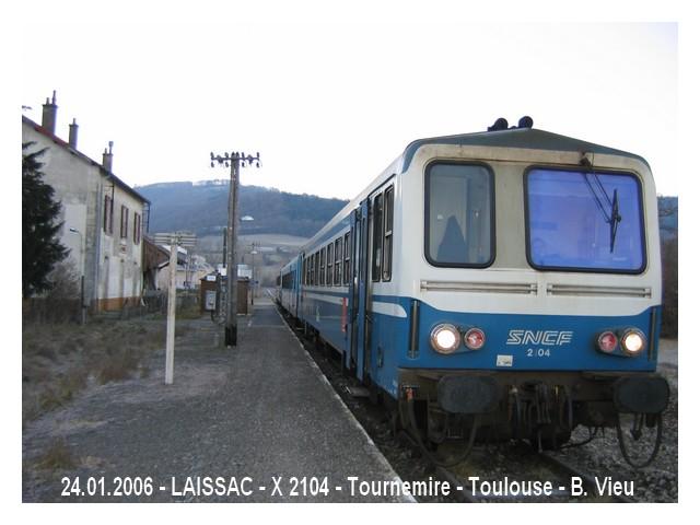 Pk 601,1 : LAISSAC en 2006 Laissa10