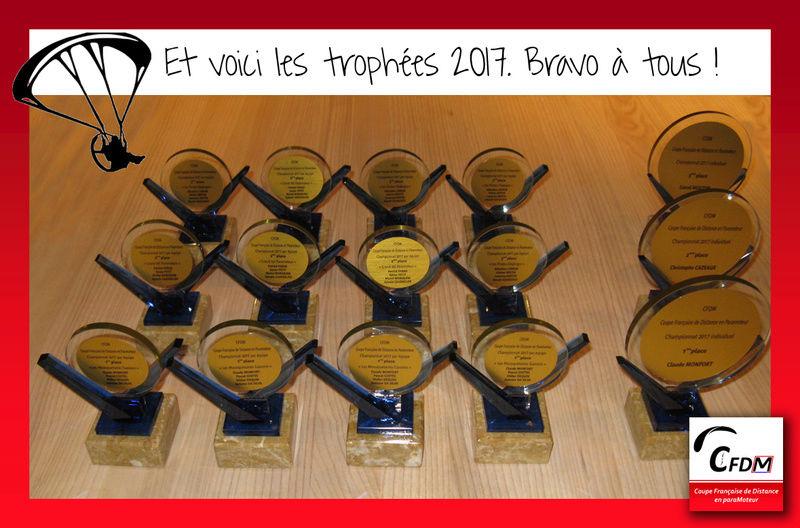 Tableau d'honneur et photos des trophées 18011711
