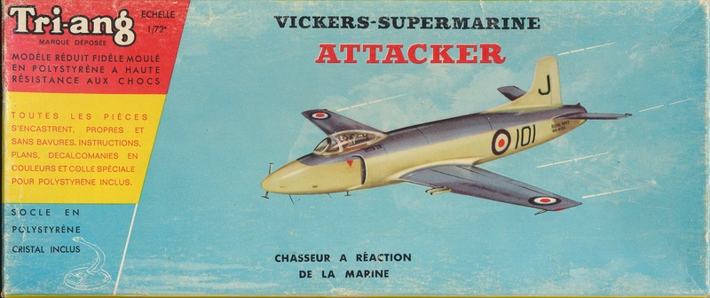 Supermarine Attacker, Frog, 1956, Ref.: 330P Attack10