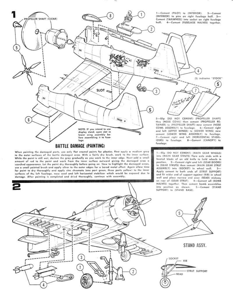 [IMC] DOUGLAS A-1H SKYRAIDER 1/72ème Réf 484 100 Dougla17