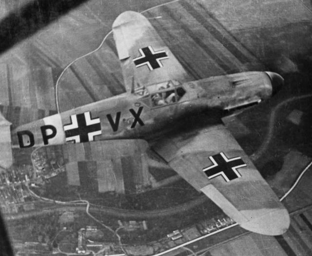 Les yeux de la Luftwaffe part III Messer47
