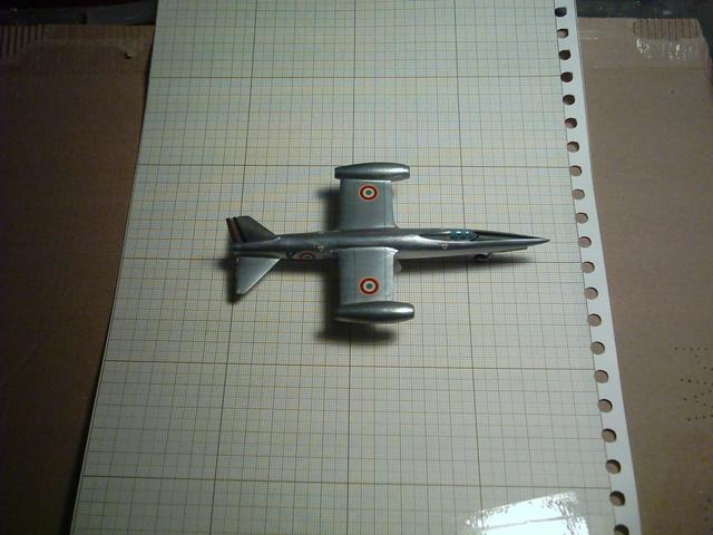 """SNCASO SO 9050 Trident II, maquette Ventax """"Ventavia"""" en thermo-formé, décembre 1959 Sncaso21"""