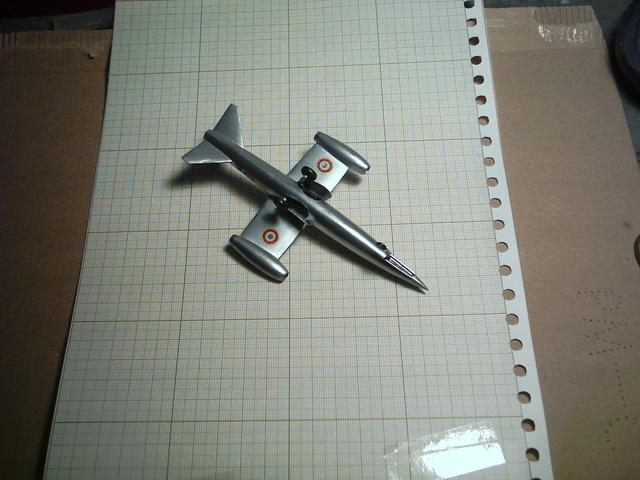"""SNCASO SO 9050 Trident II, maquette Ventax """"Ventavia"""" en thermo-formé, décembre 1959 Sncaso23"""