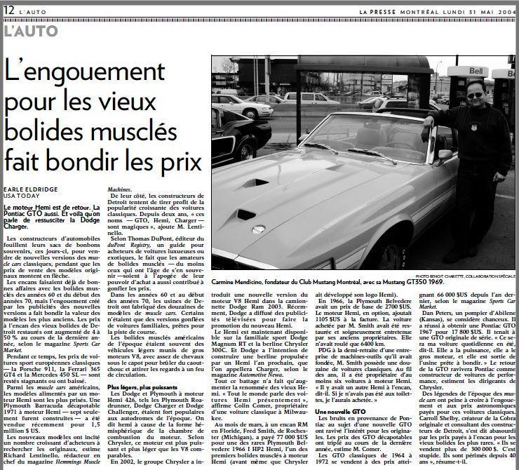 Montréal Mustang dans le temps! 1981 à aujourd'hui (Histoire en photos) - Page 6 2004cm10