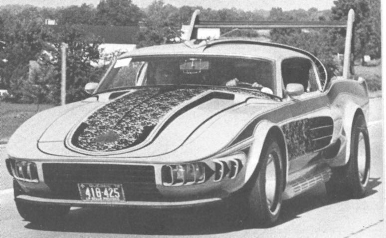 La Mustang 1967 modifié par Xavier Miron de Montréal 67stan10
