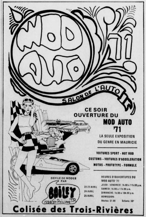 La Mustang 1967 modifié par Xavier Miron de Montréal Salonm10