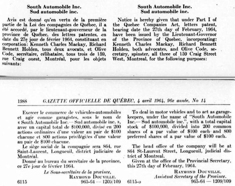 Sud Automobiles Inc Sud6410