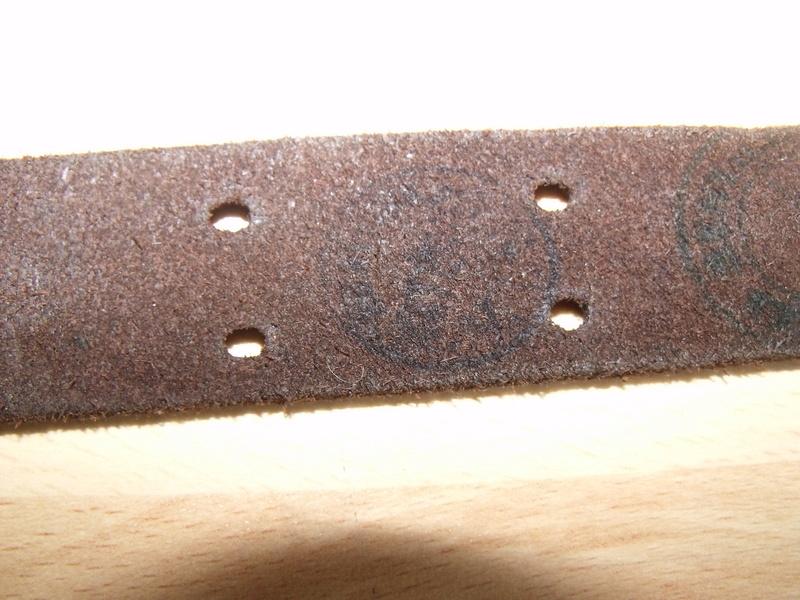 Bretelle cuir fusil Garand M1 Dscf0153