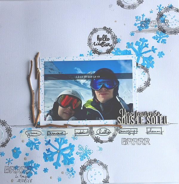 Défi # 2  : Ski alpin - Page 5 2018-014