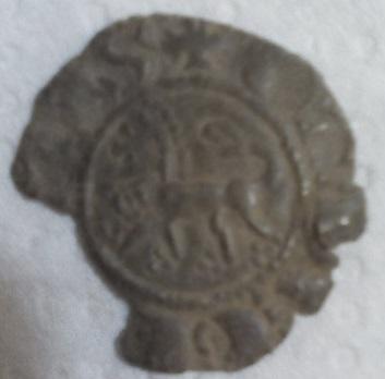 Dinero de Fernando IV. Leo_a10