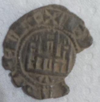 Dinero de Fernando IV. Leo_re10
