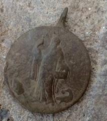 Virgen de Monserrat / San Benito de Nursia, S.XVIII Rev_11