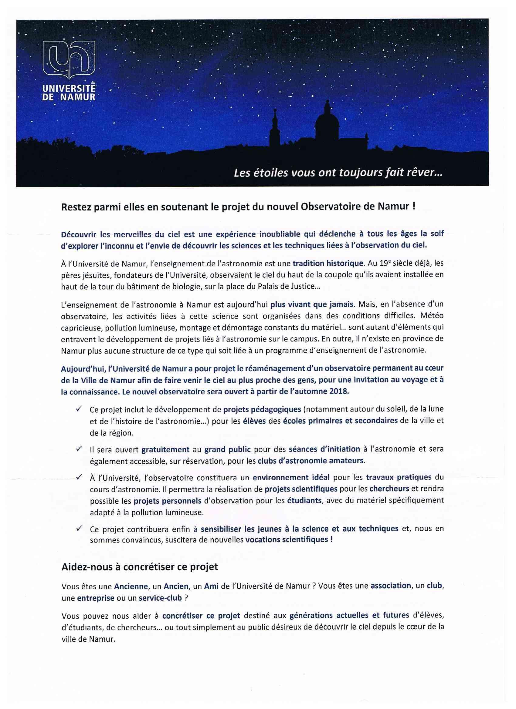 Un futur (second) observatoire à Namur? Andy210
