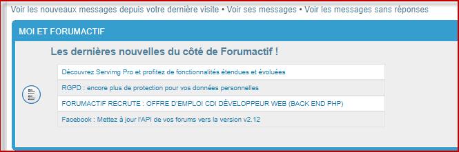 Transfer annonce FDF sur son forum 06-06-24