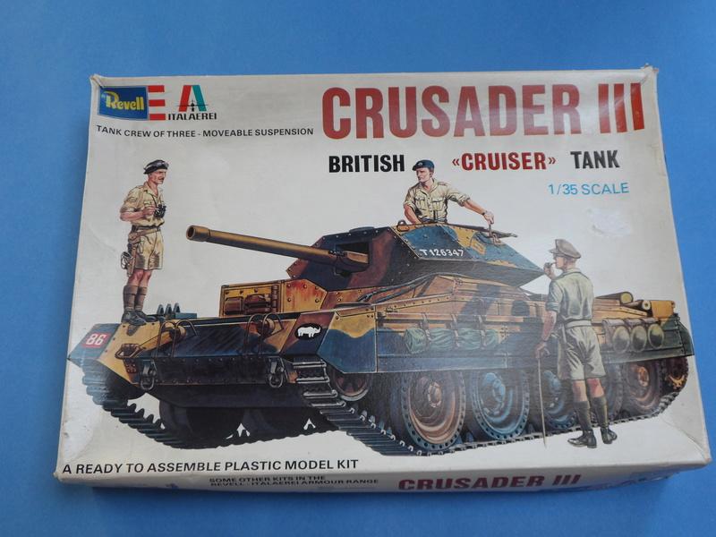 1/35 Crusader Mk III Italeri 219 Cover10