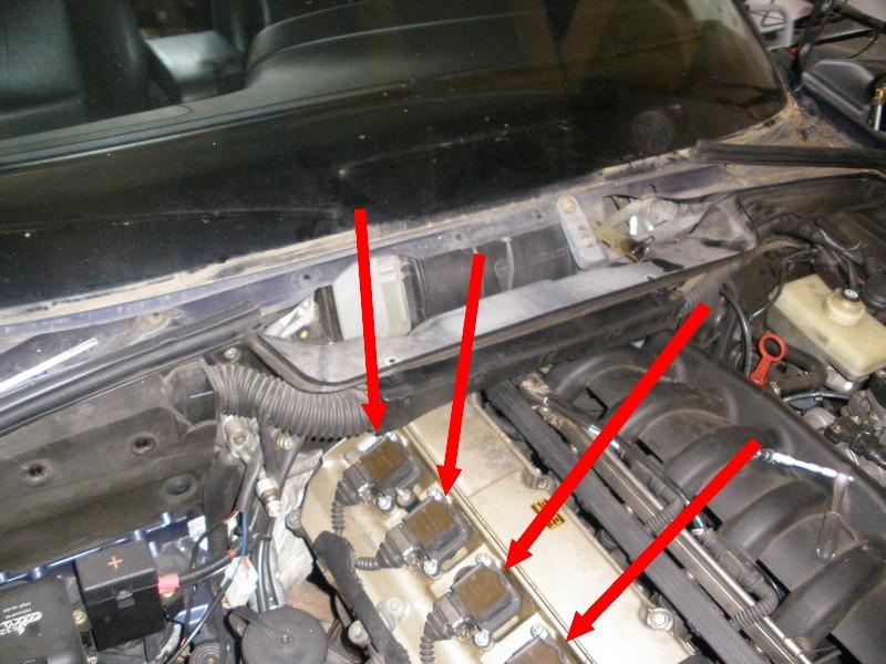 [BMW 525 i E34] Moteur qui pétarade et plus de puissance Bobine10