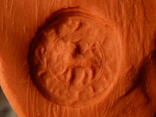 hebreo - Matriz de sello hebrea SHOLOMO KAFRY (Salomón Cabrit?)  P1010810