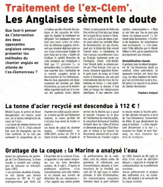 Démantèlement du Clemenceau et Colbert... - Page 5 Clem10