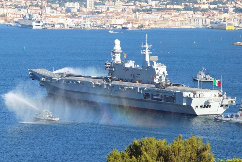 Les news en images du port de TOULON - Page 34 Cavour27