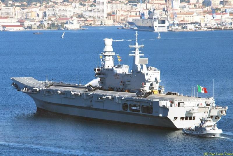 Les news en images du port de TOULON - Page 34 Cavour28