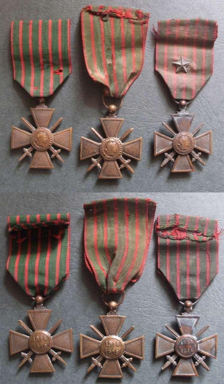Trois C.D.G. 1014/1918 (VENDUES) - PE - MAI 1 Cdg_1410