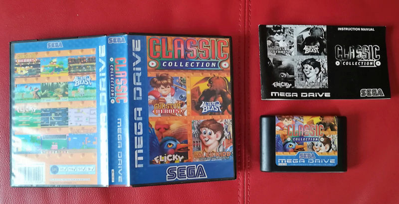 [VDS] CLASSIC COLLECTION MEGADRIVE complet Clssic10