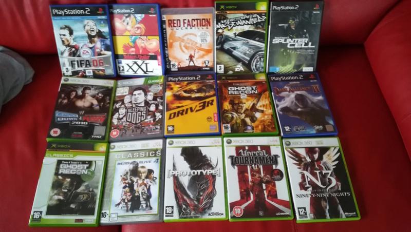 LOT DE 15 JEUX XBOX, X360, PS2, PS3 pour 30€ Img_2031