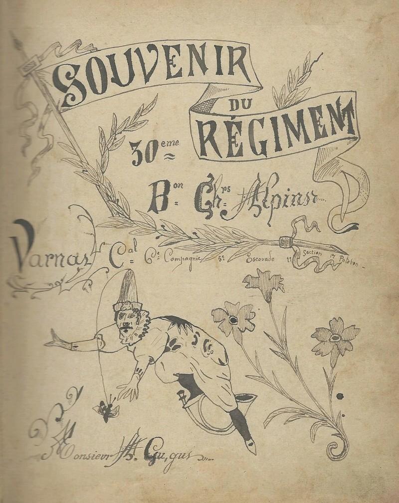 un cahier de chansons de 1897 du 30ème BACP 1897_c12