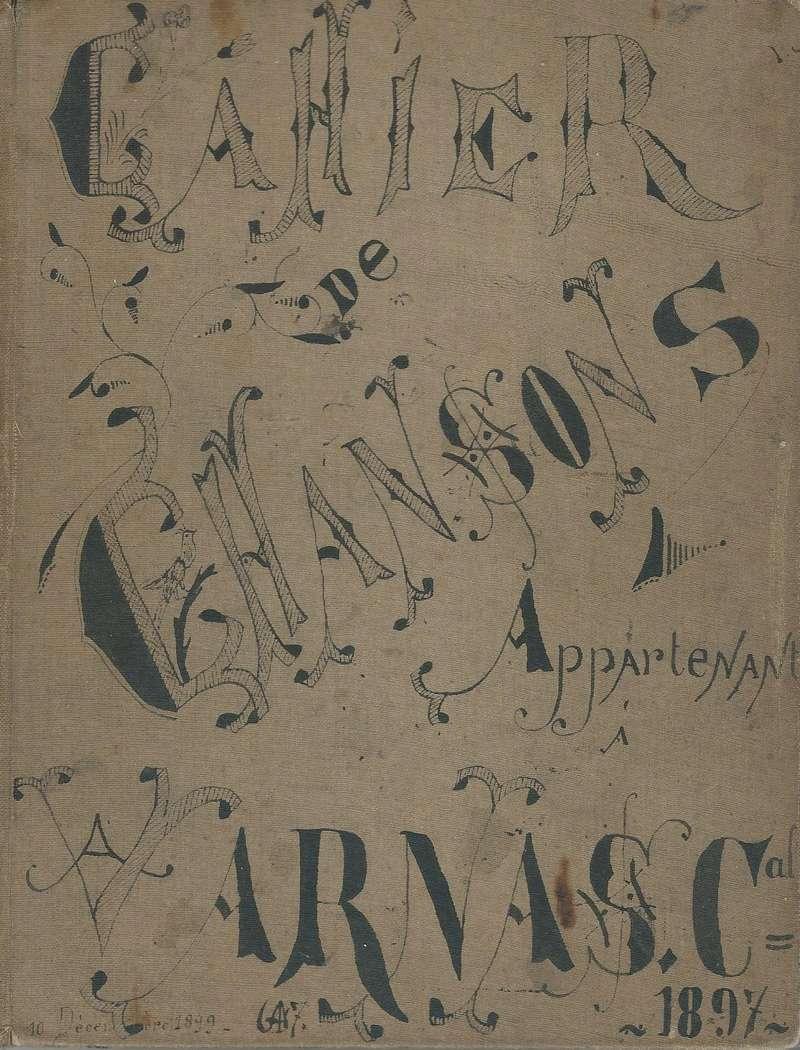 un cahier de chansons de 1897 du 30ème BACP 1897_c13