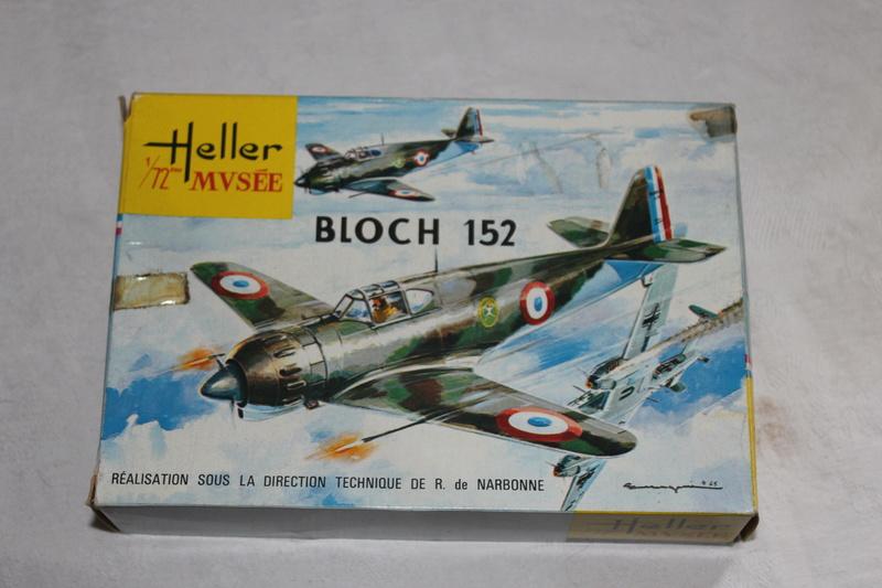 BLOCH MB 152 1/72ème Réf 80211 Img_1145