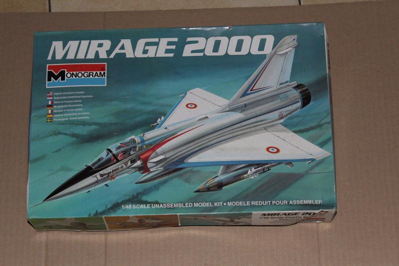 Mirage 2000-01 Monogram 1/48 Img_1631