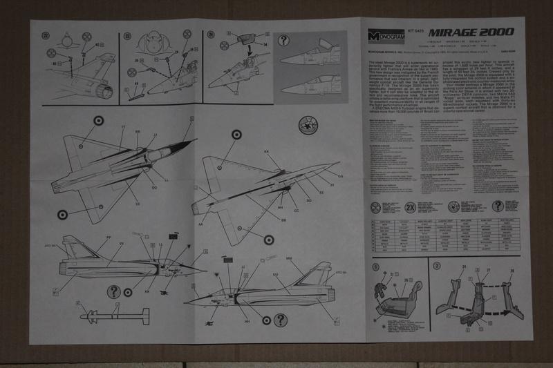 Mirage 2000-01 Monogram 1/48 Img_1632