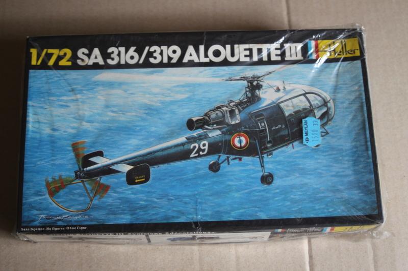 SA-316/319 Alouette III Heller 1/72, une évolution remarquable d'un très beau kit... Img_9116