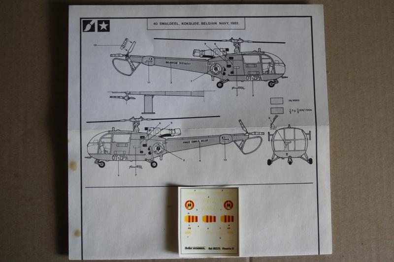 SA-316/319 Alouette III Heller 1/72, une évolution remarquable d'un très beau kit... Img_9118