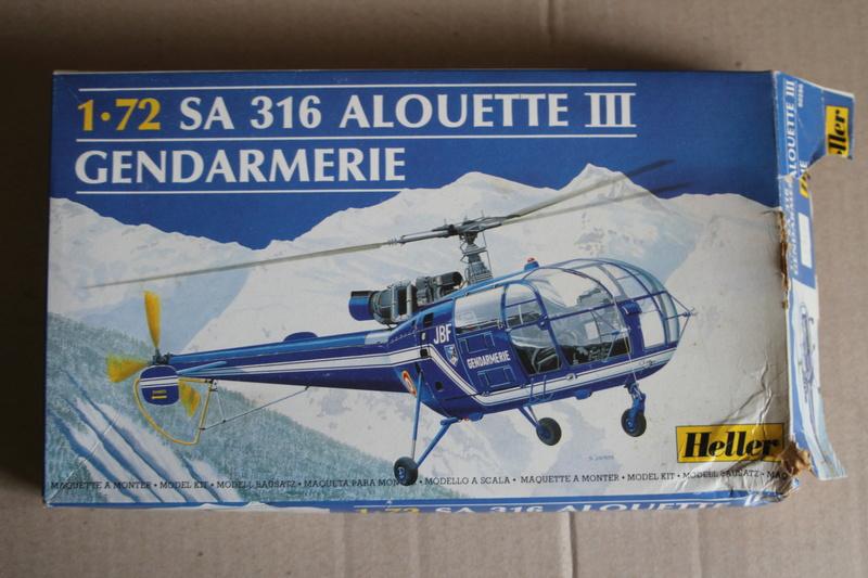 SA-316/319 Alouette III Heller 1/72, une évolution remarquable d'un très beau kit... Img_9120