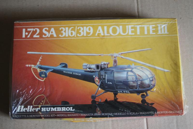 SA-316/319 Alouette III Heller 1/72, une évolution remarquable d'un très beau kit... Img_9122