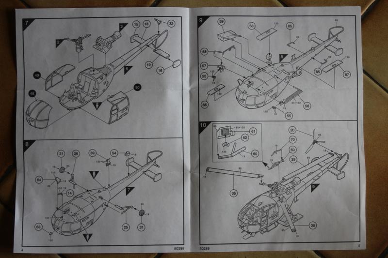 SA-316/319 Alouette III Heller 1/72, une évolution remarquable d'un très beau kit... Img_9130