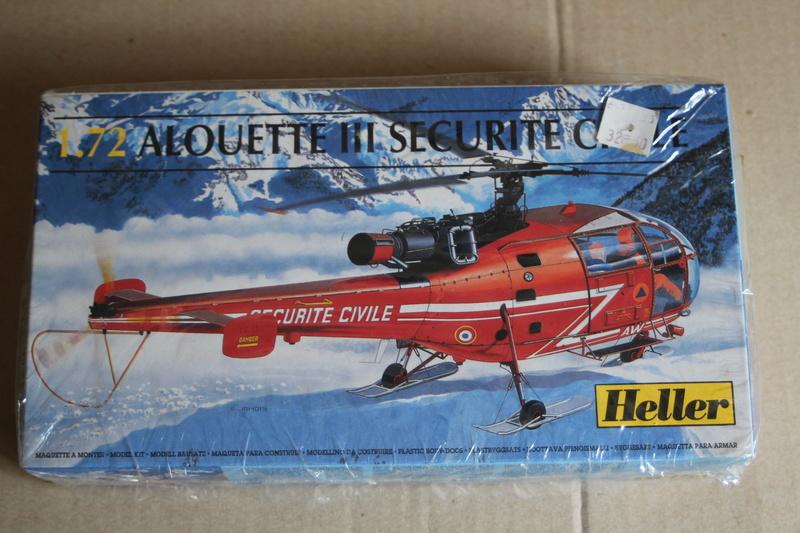 SA-316/319 Alouette III Heller 1/72, une évolution remarquable d'un très beau kit... Img_9137