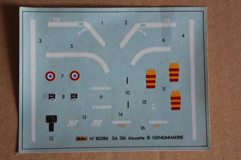 SA-316/319 Alouette III Heller 1/72, une évolution remarquable d'un très beau kit... Img_9138