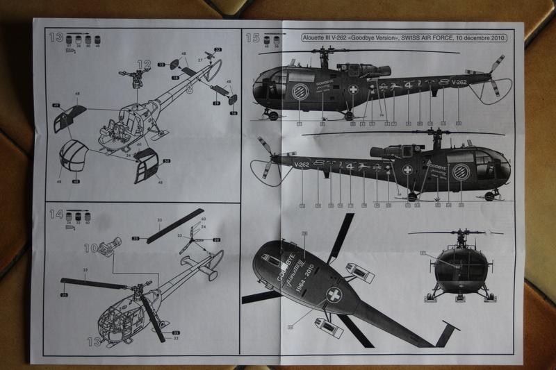 SA-316/319 Alouette III Heller 1/72, une évolution remarquable d'un très beau kit... Img_9139
