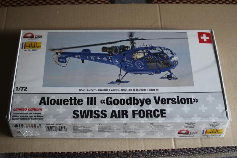 SA-316/319 Alouette III Heller 1/72, une évolution remarquable d'un très beau kit... Img_9141
