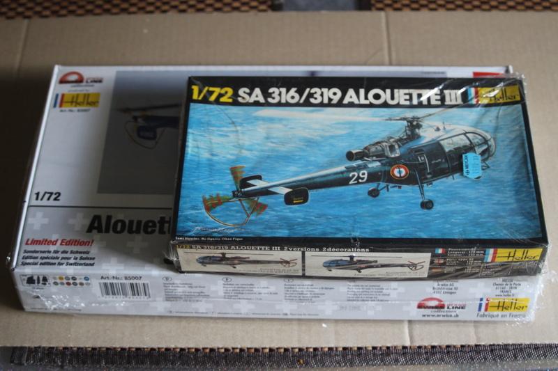 SA-316/319 Alouette III Heller 1/72, une évolution remarquable d'un très beau kit... Img_9147