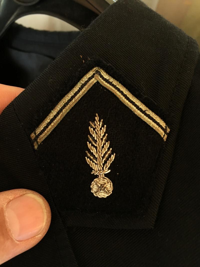 Uniforme gendarme français  Cc440110