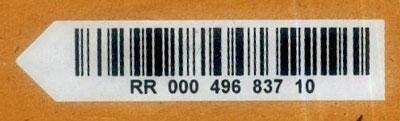 Nouveau code à barres Brcode10