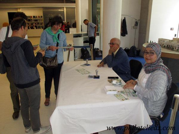 Exposition philatélique au Musée Mama Img_0813